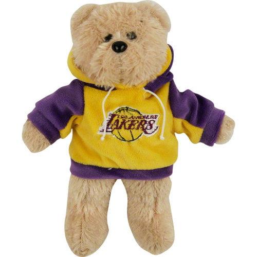 """NBA - Los Angeles Lakers 8"""" Fuzzy Hoody Bear"""
