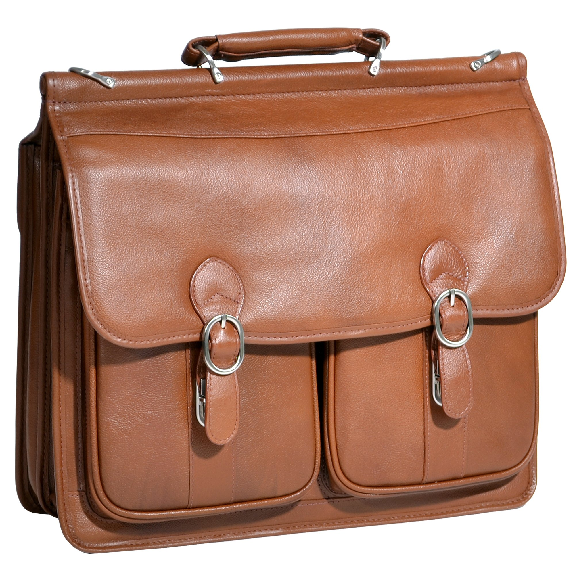 "McKlein USA Hazel Crest Leather 15.4"" Laptop Case"