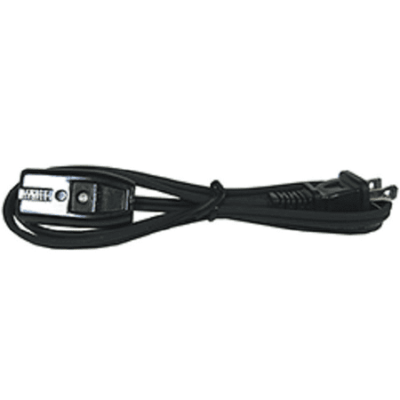 0293 SMALL APPLIANCE CORD 2U 0293REPLACEMENT SMALL APPLIANCE CORDThis universal slotted miniature plug fits electric coffee makers fry pans and many other small kitchen appliances. Specifications: 2ft 2 Wire black cord.1/2  pin spacing fits most countertop appliances.18 guage 10 amps 125 V.ul listed.Polarized plugs for easier installation.