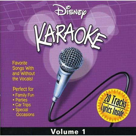 Disney Karaoke, Vol. 1](Disney Halloween Sound Effects Record)
