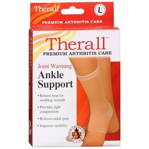 Therall Joint Warming Ankle Support Large 1 Each (Pack of 2)