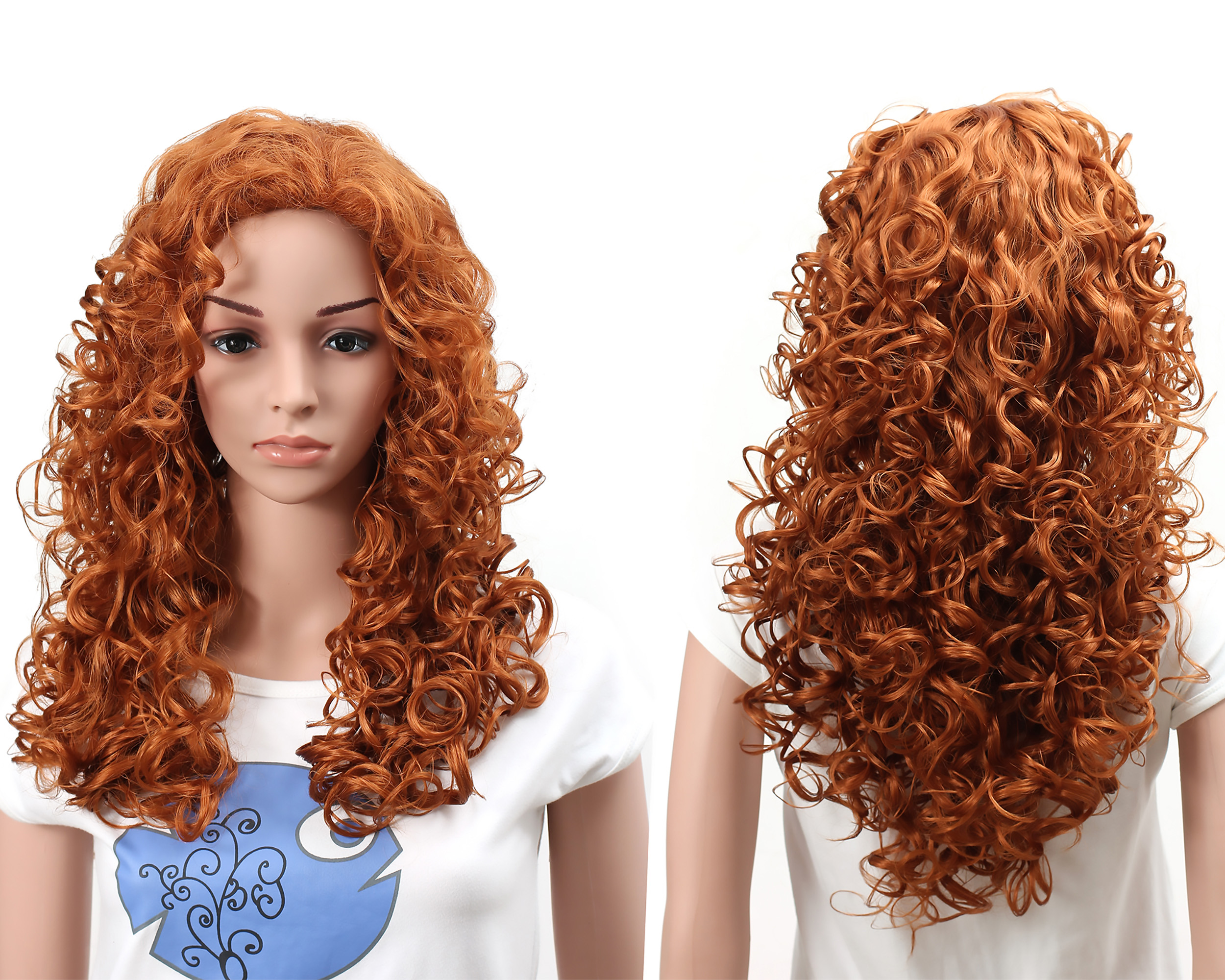 Consider, that curly natural redhead