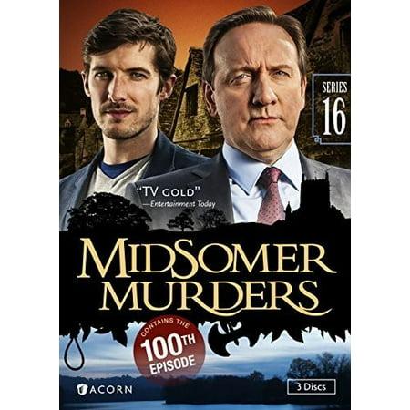 16 Standard Series - Midsomer Murders: Series 16 (DVD)