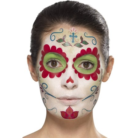 Costume Makeup Store (Day Of The Dead Sweetheart Make-Up Kit With Transfers Costume)