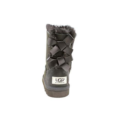 Ugg Australia Bailey Bow Toddler US 8 Black Winter Boot