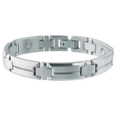 - Men's Steel Sport Magnetic Bracelet-S/M