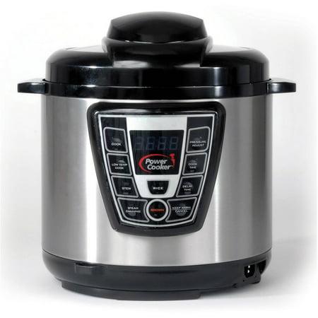 Power Pressure Cooker, 6QT - Walmart.com