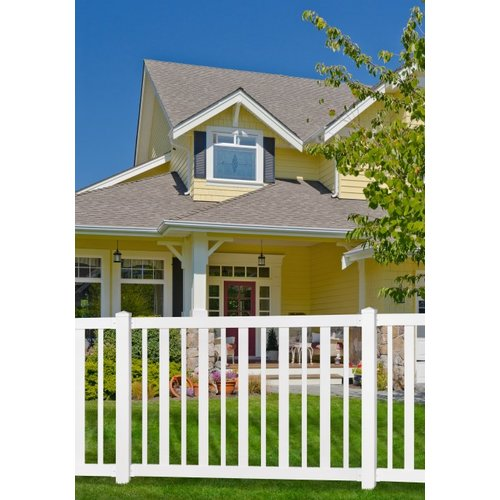 wam bam nodig fence sturbridge vinyl yard and pool fence with post and steel