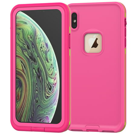 iPhone Xr Waterproof Case, Allytech Full Body Protective Case Drop Resistance Snowproof Dustproof Shockproof Underwater Full Sealed Case for iPhone Xr 6.1-inch Phone,