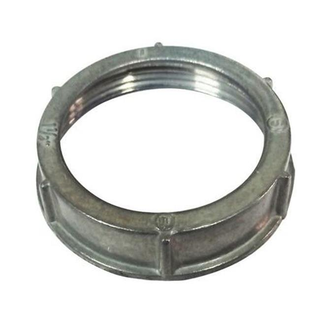 Morris 14547 Insulated Throat Conduit Bushing 3 Thread Size 3 Thread Size Morris Product Zinc Die Cast