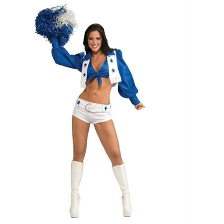 MorrisCostumes RU888865XS Dallas Cowboy Cheerldr Delux- - Dallas Nightclub Halloween