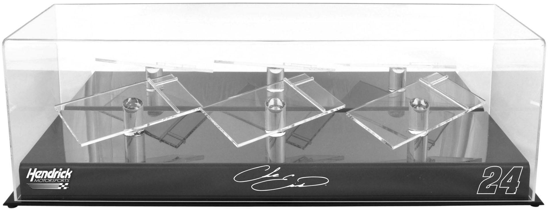 Chase Elliott #24 Hendrick Motorsports 3 Car 1 24 Scale Die Cast Display Case With Platforms Fanatics... by Fanatics Authentic