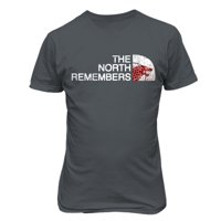 """Game of Thrones """"The North Remembers"""" Direwolf Mens & Youth T-Shirt"""