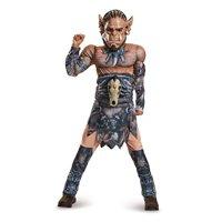 Disguise Durotan Classic Muscle Warcraft Legendary Costume, Medium/7-8