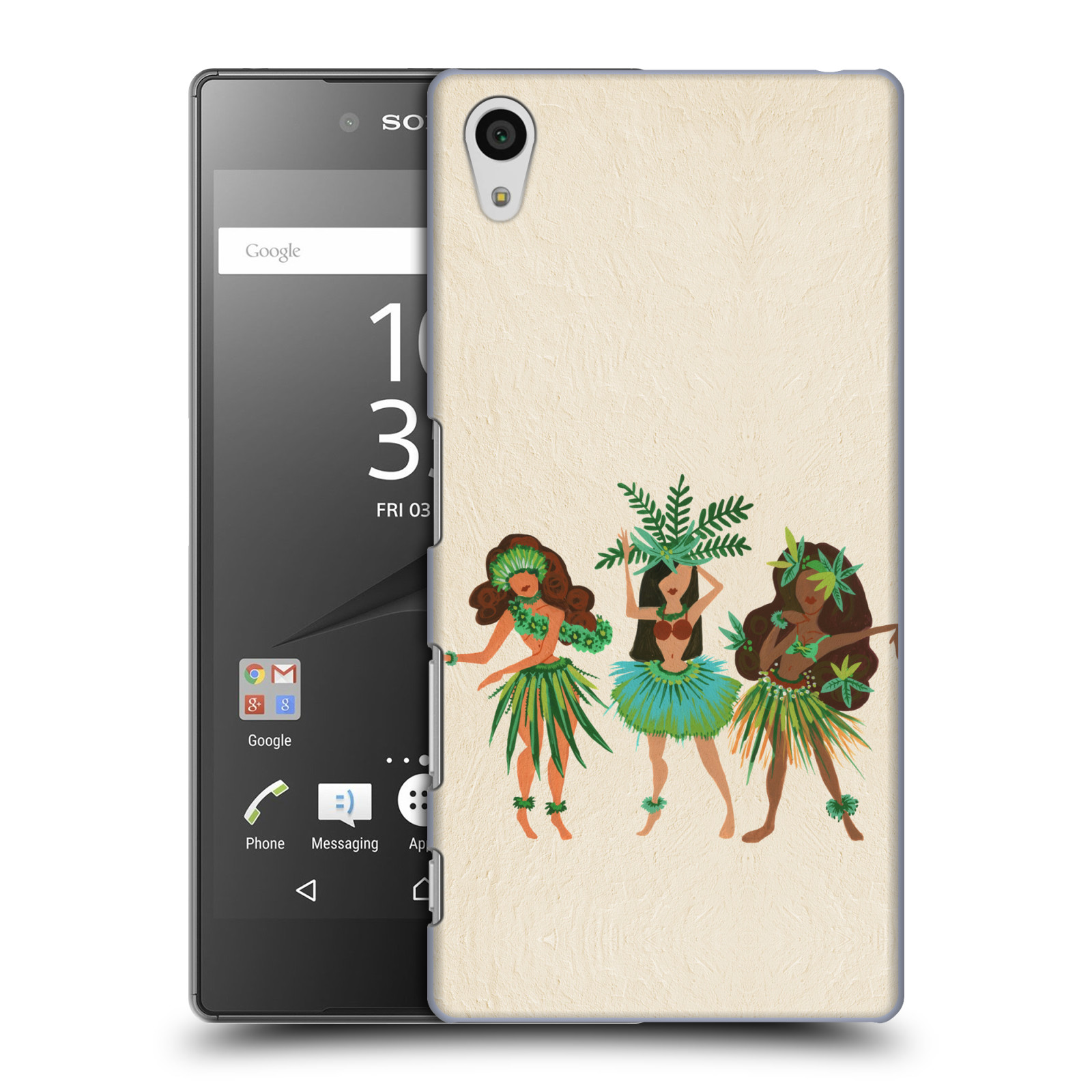 OFFICIAL CAT COQUILLETTE WATERCOLOUR HARD BACK CASE FOR SONY PHONES 1