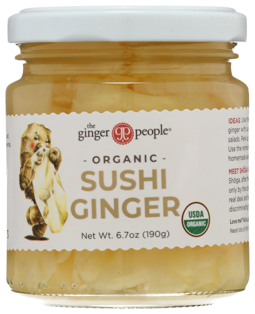 The Ginger People Organic Pickled 6 7 Oz Walmart Com Walmart Com