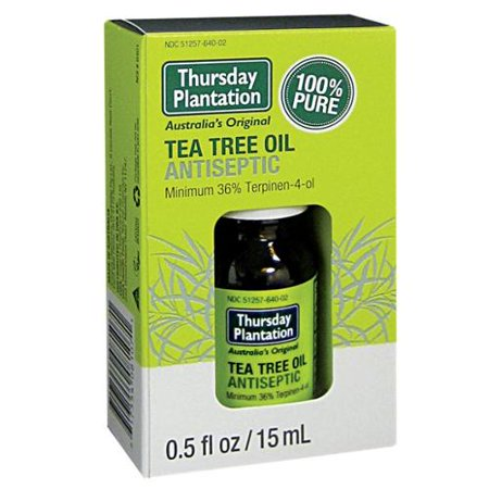 100% Pure Tea Tree Oil Thursday Plantation 15 ml Liquid ()