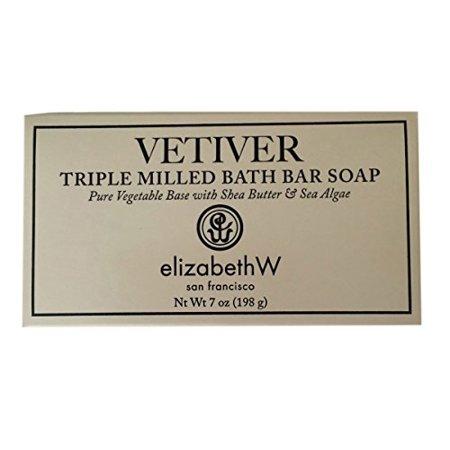 Vetiver Triple Milled Bath Bar Soap by elizabethW San Francisco ()