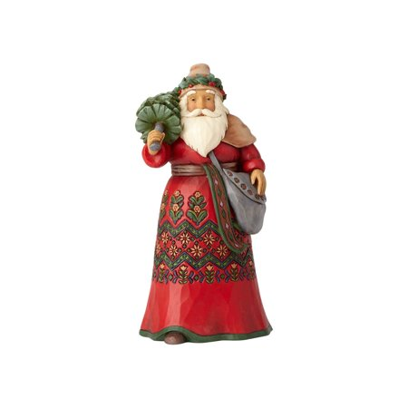 Around Santa (Jim Shore Around the World Heartwood Creek 4058791 Sweden Santa)