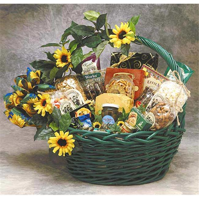 Gift Basket 81091 Large Sunflower Treats Gift Basket