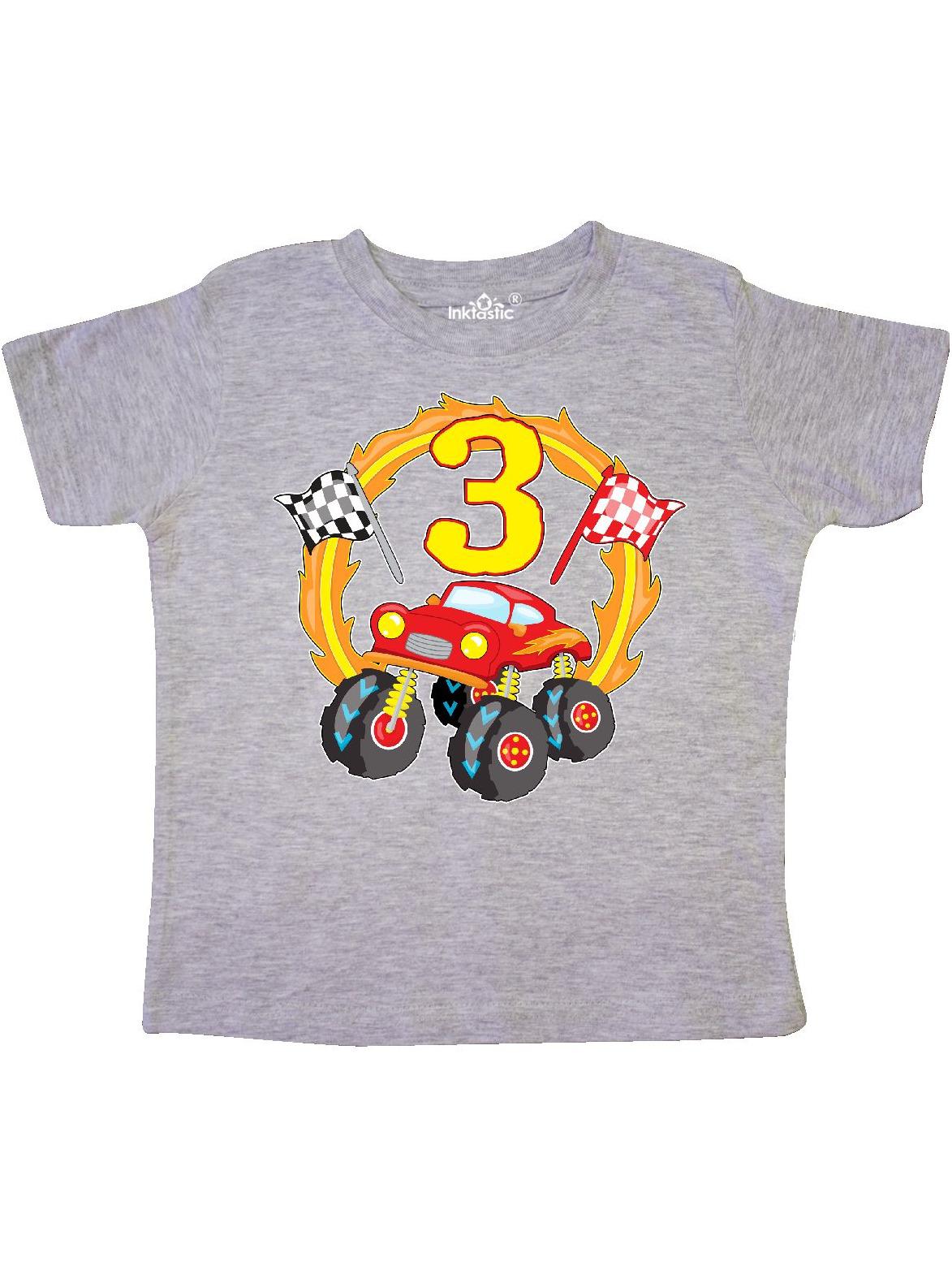 Monster Truck 3rd birthday Toddler T-Shirt