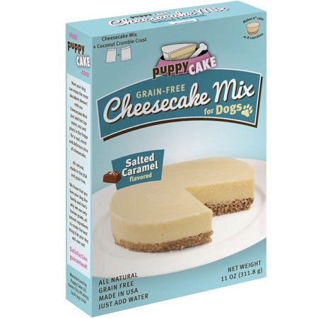 - Puppy Cake Cheesecake Mix for Dogs  Salted Caramel 11 oz