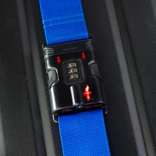 Safe Skies  TSA-Recognized Locking Luggage Strap