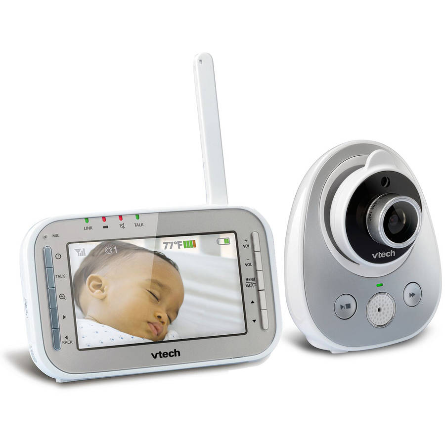 VTech VM342 Expandable Digital Video Baby Monitor with Automatic Night Vision by VTech