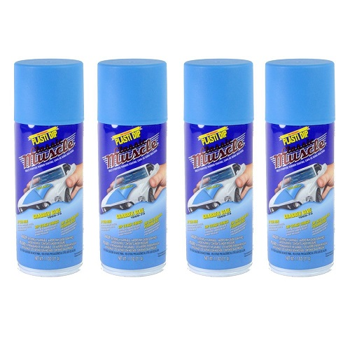 Performix Plasti Dip Muscle Car 11304 Grabber Blue Rubber Spray 4 PACK