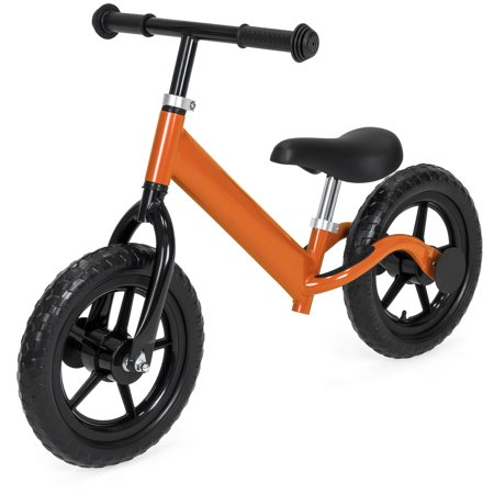 Best Choice Products Kids Self Balancing Walking Training Bicycle w/ Foam Tires, Adjustable Seat and Handle - (Best Elite Bicycle Trainers)