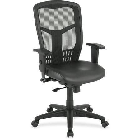 Lorell 86000 Executive Mesh - Lorell, LLR86208, Executive High-Back Mesh Chair, 1 Each, Black