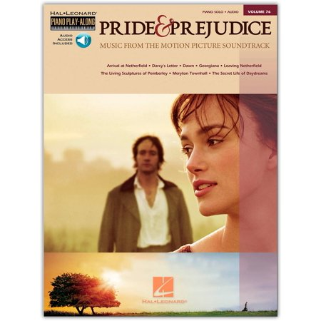 Hal Leonard Pride & Prejudice - Music From The Movie Soundtrack - Piano Play-Along Volume 76 (Book/CD) arranged for piano, vocal, and guitar (Piano Music From Pride And Prejudice 2005)
