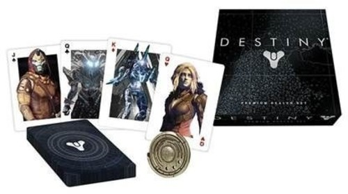 Premium Playing Cards Dealer Set Destiny by USAopoly