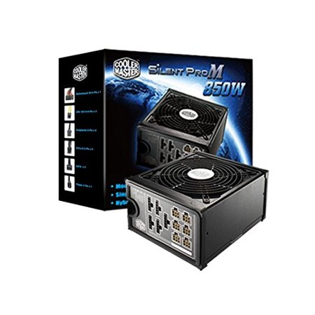 Cooler Master Silent Pro M - 850W 80 PLUS Bronze Power Supply with Modular Cables