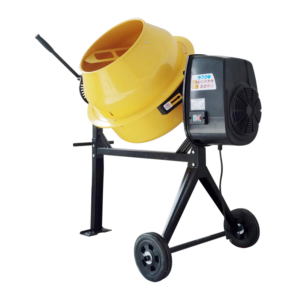 Offex 4 Cubic Foot Electric Cement Mixer by Offex