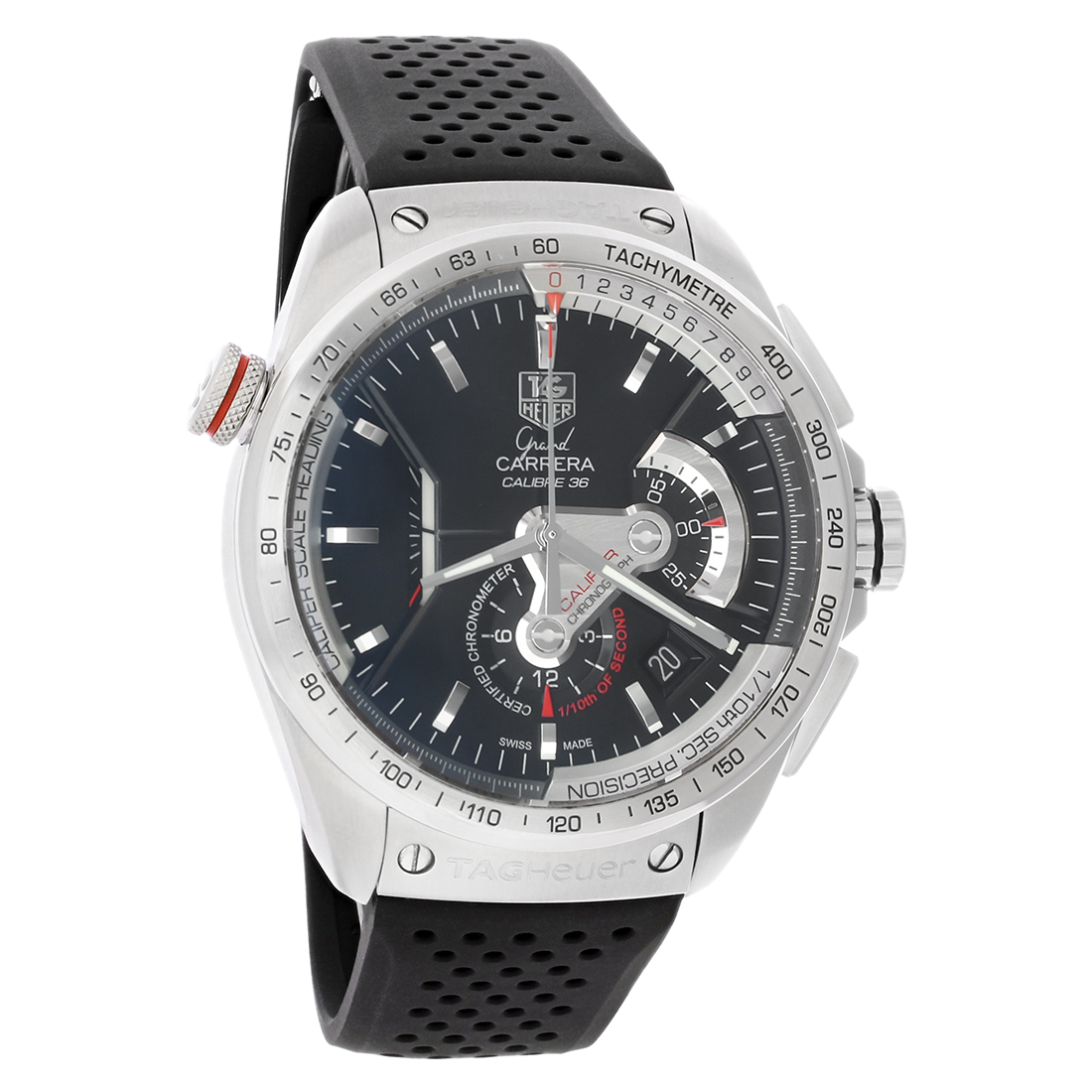 Tag Heuer Grand Carrera Calibre 36 Automatic Chronograph ...