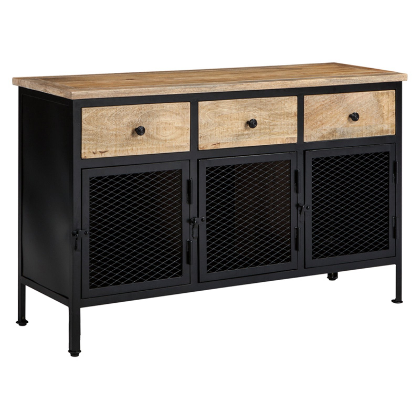 Signature Design by Ashley Ponder Ridge 49 in. Three Door Accent Cabinet