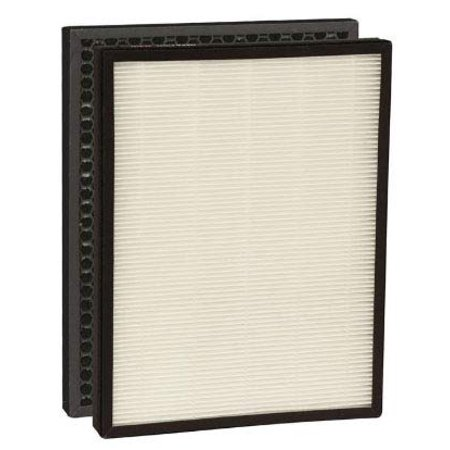 - Nispira Replacement True HEPA Air Filter with Activated Carbon Pre Filter Compatible with Alexapure Breeze 3049, 1 Set