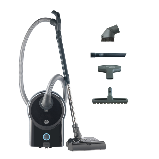 Sebo AIRBELT D4 Premium Canister Vacuum with ET-1 Power Head
