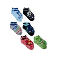 PJ Mask Boys Socks, 6 Pack No Show (Little Boys & Big Boys)