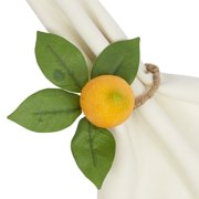 Lemon Napkin Ring - 6 Pieces