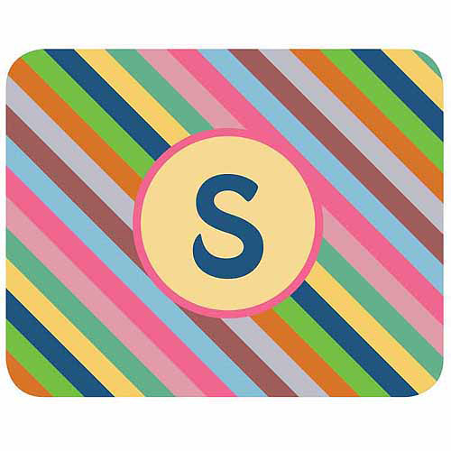 Personalized Colorful Stripes Mouse Pad