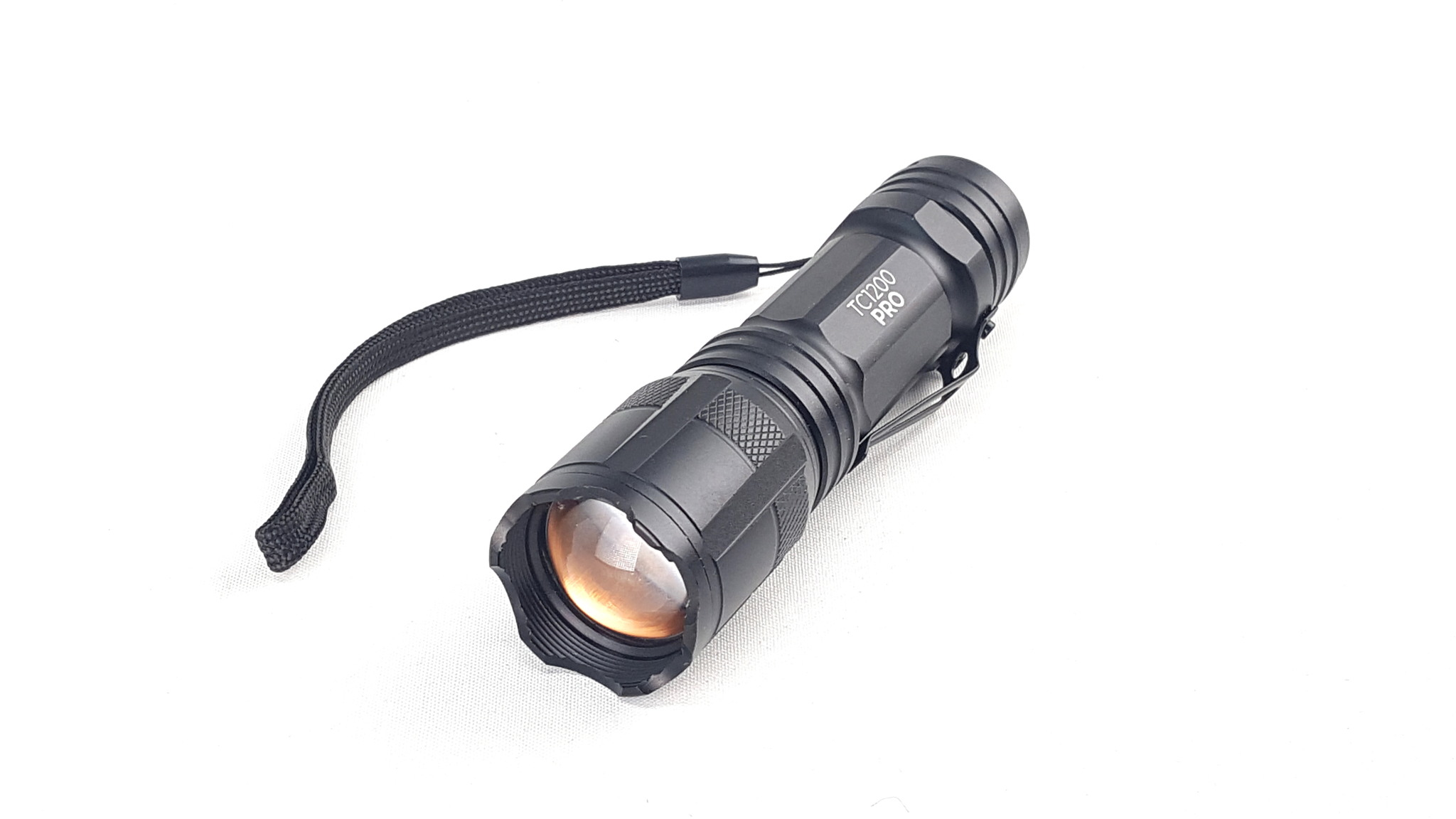 1TAC TC1200 Tactical Flashlights with Real CREE XM-L2 LED