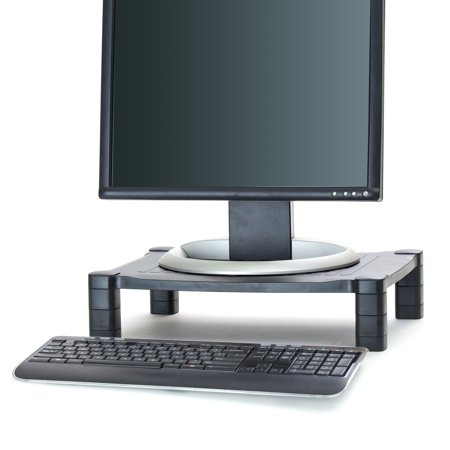 Adjustable Monitor Stand Riser for Computer, Laptop, Desk, iMac,