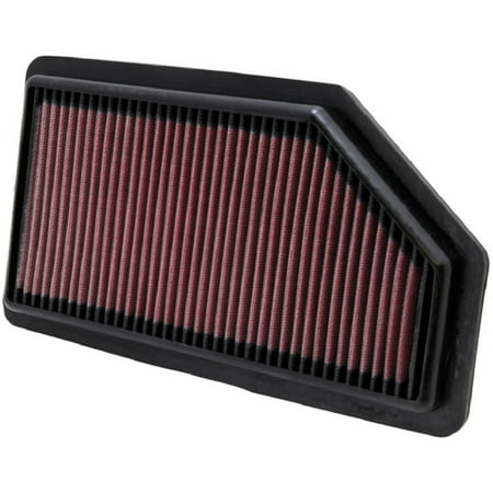 K&N Engine Air Filter: High Performance, Premium, Washable, Replacement Filter: 2011-2017 HONDA (Odyssey), 33-2461