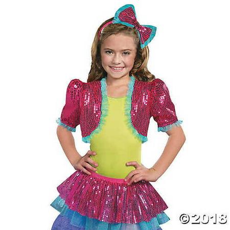 Girl's Pink Dance Craze Bolero Costume - Small/Medium - Torero Costume