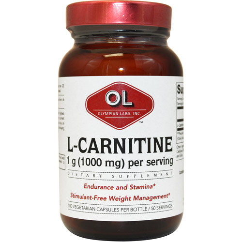 Olympian Labs L-Carnitine Fumarate 500mgs, 100ct