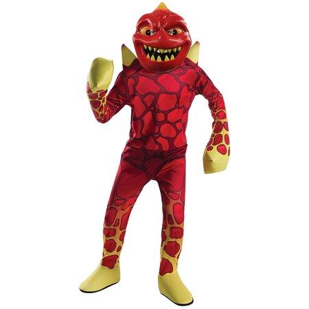Skylanders Academy Boys Eruptor Childs Lava Monster Halloween Costume