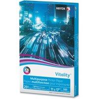 Xerox, XER3R3761, Vitality Multipurpose Printer Paper, 500 / Ream, White