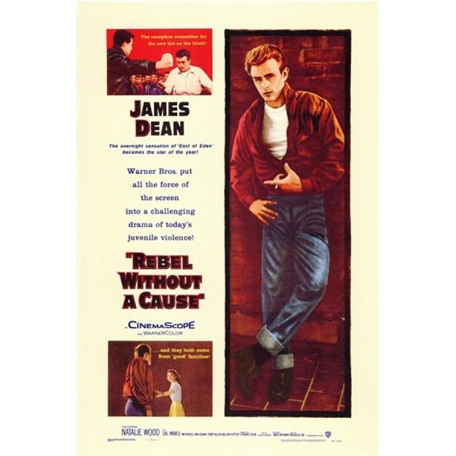 Pop Culture Graphics MOV156487 Rebel Without a Cause Movie Poster, 11 x 17 - image 1 of 1